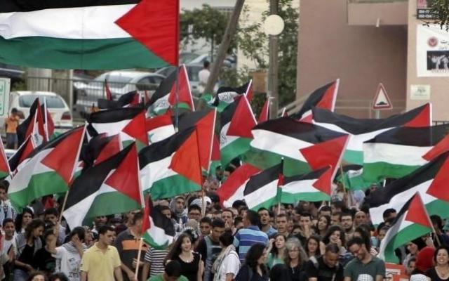 إضراب وحدوي بذكرى هبة القدس