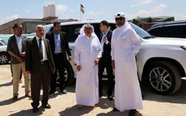 وفد قطري رفيع المستوى يصل قطاع غزة