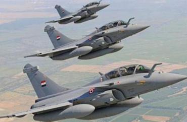 سلاح الجو المصري يدمر سيارتين تقل منفذي مجزرة مسجد الروضة