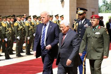 ترامب يدعو الرئيس عباس لزيارة واشنطن