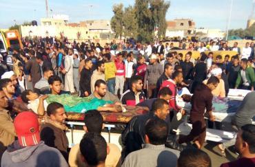 تفاصيل جديدة عن جريمة مسجد الروضة شمال سيناء