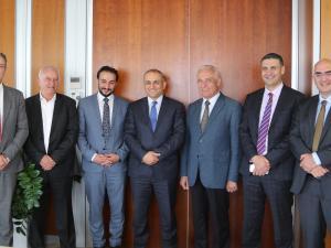 """مجموعة الاتصالات الفلسطينية وملتقى رجال الاعمال الفلسطيني """"الخليل"""" يوقعان إتفاقية تعاون"""