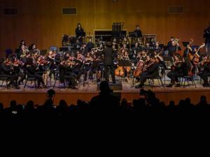 بنك فلسطين يقدم  دعمه لعرض أوركسترا المعهد الوطني للموسيقى في جامعة بيرزيت