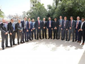مجموعة الاتصالات تدعم جامعة الخليل بمختبر علمي