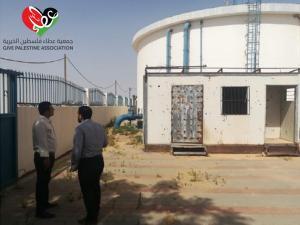 """جمعية عطاء فلسطين تشرع في تنفيذ مشروع قطرات الحياة """"1"""" جنوب قطاع غزه"""