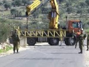 الشؤون المدنية: الاحتلال يعيد فتح البوابات الحديدية في دورا جنوب الخليل