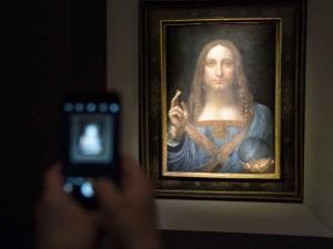 """بيع لوحة """"سلفاتور مندي"""" للرسام الإيطالي دافنشي بـ450 مليون دولار"""