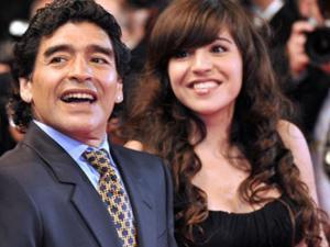 مارادونا يطالب بسجن ابنته.. بسبب ملايين الدولارات!