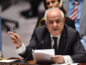 منصور: أمن وسلامة الشرق الأوسط مرتبط بتحقيق العدالة لقضية فلسطين