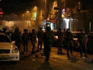 46 إصابة خلال مواجهات مع الاحتلال في العيزرية بالقدس