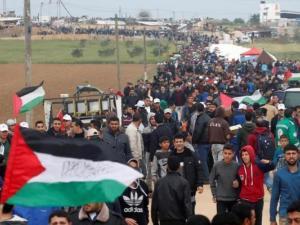 """غزة تستعد لجمعة """"لبيك يا أقصى"""" في مسيرات العودة شرق القطاع"""