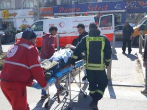 أربع إصابات إحداها خطيرة وسط القدس