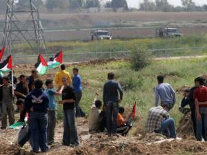 شهيدان و89 إصابة بينهم 5 حالات خطيرة خلال المواجهات في غزة