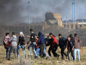 إصابة مواطنين برصاص الاحتلال شرق جباليا