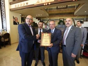"""""""بنك القدس"""" يرعى احتفالا تكريما لموظفات جامعة النجاح"""
