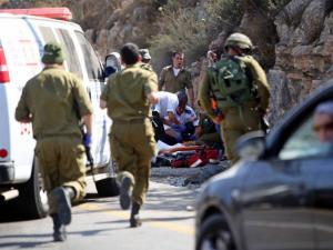 مقتل جندي وإصابة ثلاثة أخرين بعملية دهس شمال الضفة