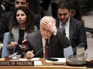 مندوب فلسطين: مجلس الأمن مشلول لكن سنظل نطرق أبوابه