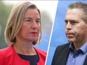 """وزير إسرائيلي يتهم الاتحاد الأوروبي بـ """"الإفلاس الأخلاقي"""" لدعمه إيران"""