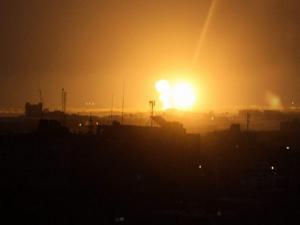 الاحتلال يستهدف موقعًا للمقاومة شمال غزة
