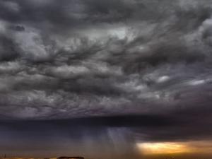 امطار وعواصف رعدية