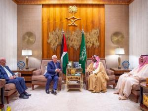الرئيس عباس يعقد اتفاق مع السعودية لإنشاء لجنة اقتصادية مشتركة