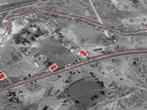 """الجيش الإسرائيلي يكشف عن """"مواقع إيرانية"""" استهدفها قرب دمشق"""
