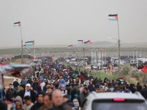 تعزيزات عسكرية إسرائيلية تحسبا لتظاهرات النكبة في غزة