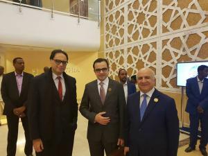 بسيسو يبحث دعم القدس وتعزيز التعاون الثقافي المشترك مع عدد من نظرائه العرب