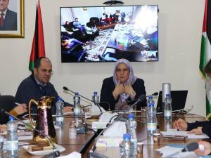 الأغا تعقد لقاءاً تشاورياً لتقدير واحتساب التكلفة الاقتصادية للعنف