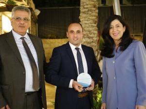 المشروبات الوطنية تقدّم رعاية لمنتدى فلسطين الدولي الأول للمياه