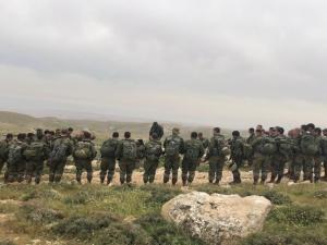 بالصور: مناورة تحاكي وقوع عمليات خطف في الضفة