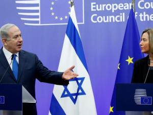 """""""نتنياهو"""" يرفض لقاء مسؤولة العلاقات الخارجية في الاتحاد الاوروبي"""