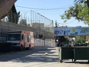 محيط جامعة ابو ديس منطقة عسكرية مغلقة واندلاع مواجهات