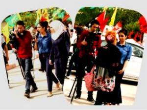 الاستعداد لعرض مجموعة من الانتاجات التلفزيونية لطلبة الإعلام بجامعة بيرزيت