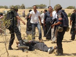 الجيش المصري يقتل 52 مسلحا في سيناء