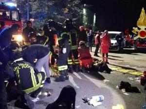 فيديو: مقتل ستة أشخاص وإصابة أكثر من 120 آخرين بملهى ليلي بإيطاليا