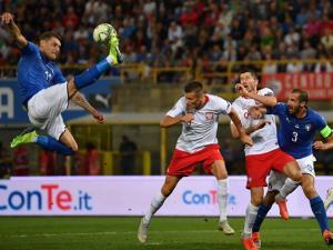 إيطاليا تنجو من الهزيمة أمام بولندا بدوري أمم أوروبا (شاهد)