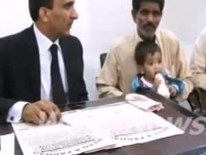 """أخيراً ..الحكم ببراءة الرضيع الباكستاني من """"الشروع بالقتل"""""""