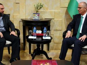 الحمد الله يستقبل الأمير محمد بن علي