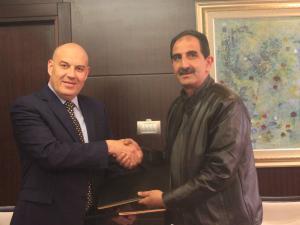 بنك القدس يوقع إتفاقية مع اللجنة الأولمبية الفلسطينية  لرعاية الأسبوع الأولمبي المدرسي