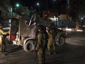 اصابة جندي اسرائيلي خلال اعتقال شاب بمخيم الدهيشة