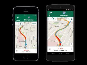 """""""غوغل"""" تحدد السرعة ومواقع الرادارات على خرائطها"""