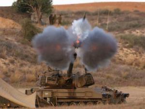 الإحتلال يطلق قذيفتين مدفعية شرق الشجاعية بغزة
