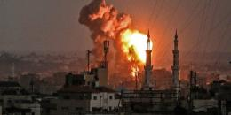 جيش الاحتلال يعلن بدء القصف في غزة