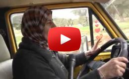 Embedded thumbnail for ختام جرار..سيدة فلسطينية تقود حافلة